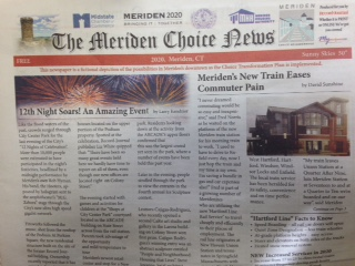 EXTRA EXTRA! Meriden Choice News highlights downtown revitalization plans