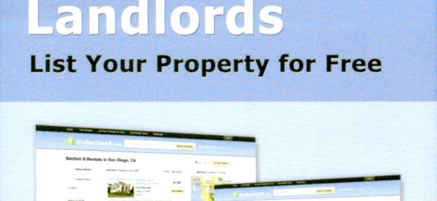 Landlords – List Your Property for Free